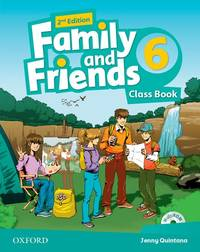 Family And Friends: Level 6: Class Book With Student MultiROM - Used Books