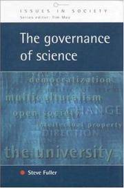 Governance Of Science (Issues in Society) by Fuller  - Paperback  - 1  - 1999-01-12  - from Ergodebooks (SKU: DADAX0335202349)