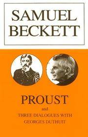 image of Proust and Three Dialogues with George Duthuit