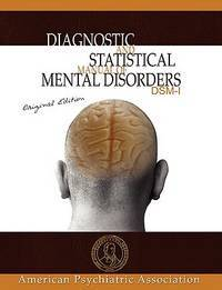 image of Diagnostic and Statistical Manual of Mental Disorders: Dsm-i Original Edition