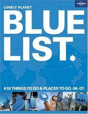 The Lonely Planet Bluelist 2006 (Lonely Planet's Blue List)