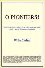 image of O Pioneers! (Webster's Thesaurus Edition)