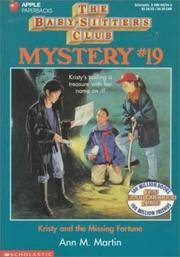 image of Kristy And The Missing Fortune (The Baby-Sitters Club Mystery)