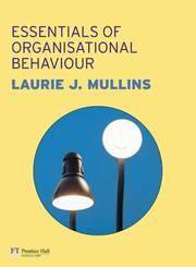 ESSENTIALS OF MANAGEMENT AND ORGANISATIONAL BEHAVIOUR