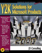 Y2K SOLUTIONS FOR MICROSOFT PRODUCTS WITH CDROM