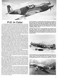 P-51 Mustang in Color - Fighting Colors series (6505)