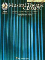 Musical Theatre Classics Volume 1 Belter/Mezzo-Soprano