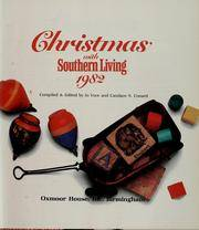 image of Christmas with Southern Living, 1982