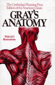 image of Gray's Anatomy: The Unabridged Running Press Edition of the American Classic