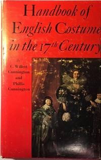 Handbook of English Costume in the Seventeenth Century - w/ Dust Jacket!