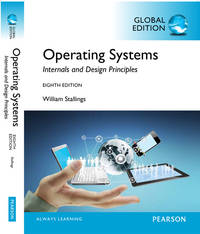 Operating Systems: Internals and Design Principles ( 8th Edition ) by William Stallings - Paperback - from knkbooks and Biblio.co.uk