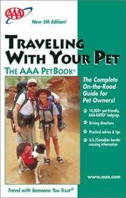Traveling With Your Pet - The AAA PetBook