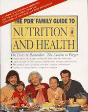 PDR Family Guide To Nutrition And Health: With Fat, Cholesterol, And Calorie Counter Guide, The