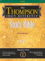 image of Thompson Chain Reference Bible (Style 507gray) - Regular Size KJV - Deluxe Kirvella