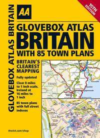 Glovebox Atlas Britain inc 85 Town Plans