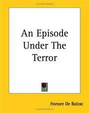 image of An Episode Under The Terror