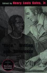Race, Writings & Difference. [paperback].