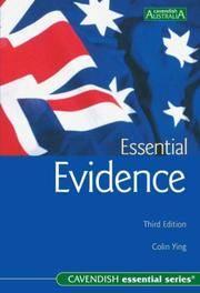 Essential Evidence (Australian Essential Series)