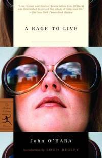 image of A Rage to Live (Modern Library Classics)