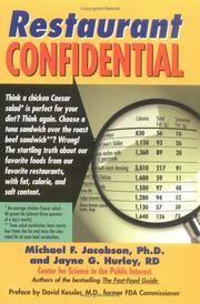 Restaurant Confidential