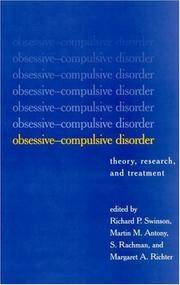 Obsessive-Compulsive Disorder: Theory, Research, and Treatment