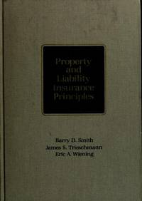 Property and liability insurance principles by Barry D Smith - Hardcover - from ThriftBooks and Biblio.com