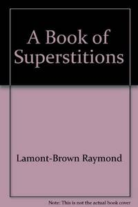 image of A book of superstitions