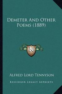image of Demeter And Other Poems (1889)