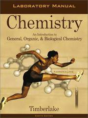 image of Chemistry: An Introduction to General, Organic, and Biological Chemistry, Eighth Edition (Laboratory Manual)