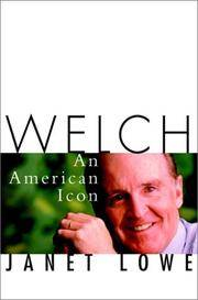 Welch: An American Icon [Jack Welch / General Electric]