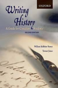 image of Writing History: A Guide for Canadian Students