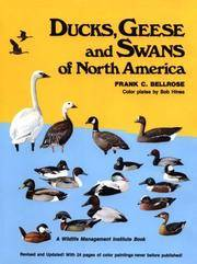 image of Ducks, Geese & Swans of North America