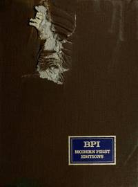 Bookman's Price Index (BPI) ; Volume 1: Modern First Editions