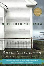 More Than You Know : A Novel