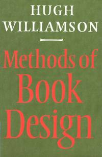 image of METHODS OF BOOK DESIGN THE PRACTICE OF AN INDUSTRIAL CRAFT