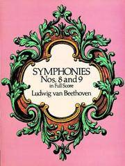Symphonies Nos 8 and 9 In Full Score