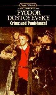 image of Crime and Punishment: Unabridged (Signet classics)