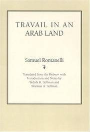 image of Travail In An Arab Land (Judaic Studies Series)