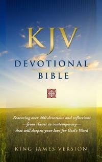 KJV Devotional Bible Hardcover