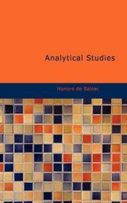 image of Analytical Studies