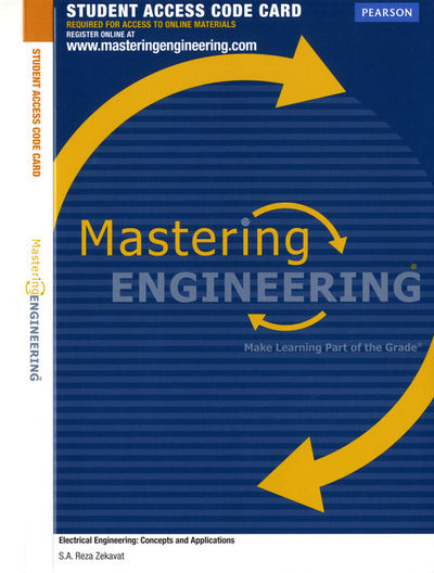 MasteringEngineering without Pearson etext -- Access Card -- for Electrical Engineering ...
