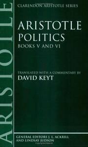 image of Aristotle: Politics, Books V and VI (Paperback)