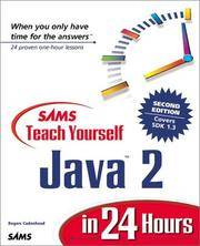 Sams Teach Yourself Java 2 in 24 Hours (2nd Edition)