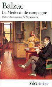 image of Medecin de Campagne (Folio (Gallimard)) (English and French Edition)