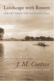 image of Landscape with Rowers: Poetry from the Netherlands