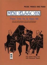 Music Minus One Piano: Mendelssohn Piano Trio No. 2 in C minor, op. 66 (Book & Audio CD) (Music...