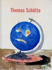 Drawings by Thomas Schutte - Hardcover - 2006-08-30 - from Ergodebooks and Biblio.com