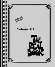 image of The Real Book - Volume 3: C Instruments