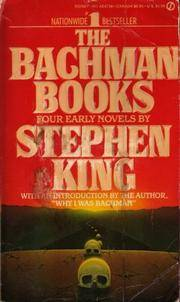 The Bachman Books Four Early Novels By Stephen King 1985 HC/DJ RAGE RUNNING MAN