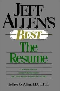 Jeff Allen's Best: The Resume P